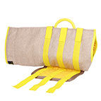 Dog Bite Sleeve Protection Jute Cover with Patch