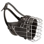 NEW Fully Padded Hard Dog Wire Cage Muzzle for Working Dogs