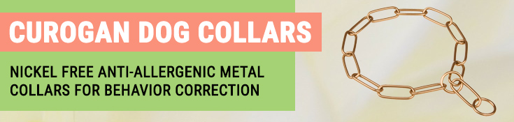 Nickel Free Anti-Allergenic Metal Collars for Behaviour Correction
